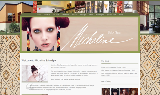 Website Design Lakeland FL - Micheline