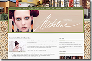 Web Design Lakeland FL - Micheline Salonspa
