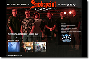 Smokepoint Website Design by Advantage Positioning Lakeland FL